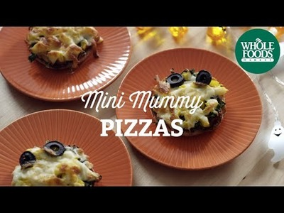DIY Halloween Recipe: Mini Mummy Pizzas | Fall Cooking l Whole Foods Market