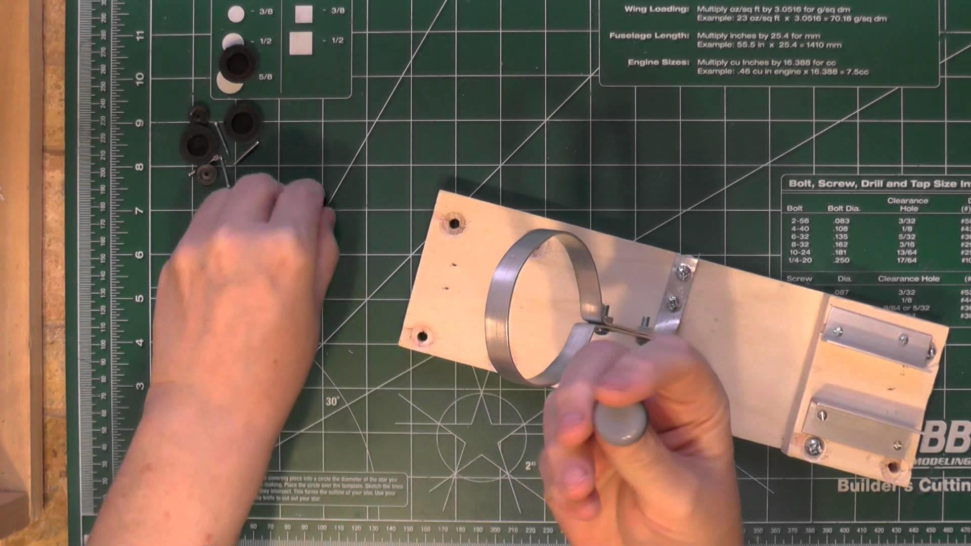 DIY Heat Gun Holder - Quick and Easy