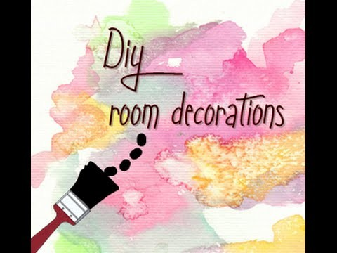 DIY room decorations