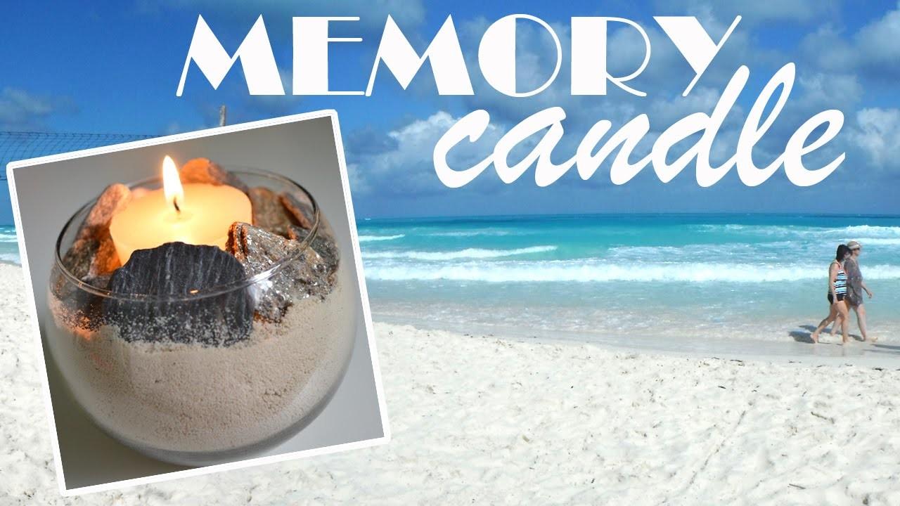 DIY: Vacation Memory Candle