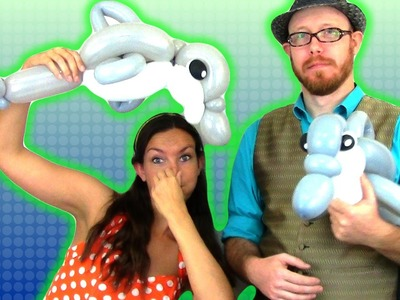 Dolphin Balloon Animal Tutorial with NATE the GREAT!!
