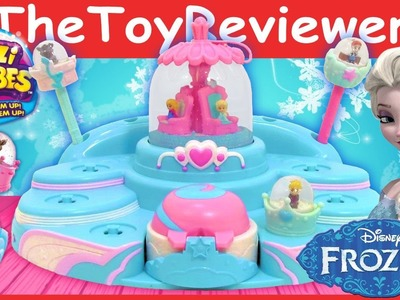 Glitzi Globes Disney Frozen Elsa's Ballroom Unboxing Tutorial and Review by TheToyReviewer