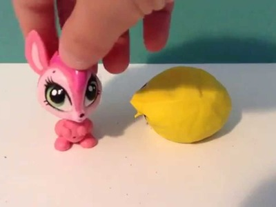 LPS DIY: How To Make An Lps Bean Bag Chair! (No Sew!)