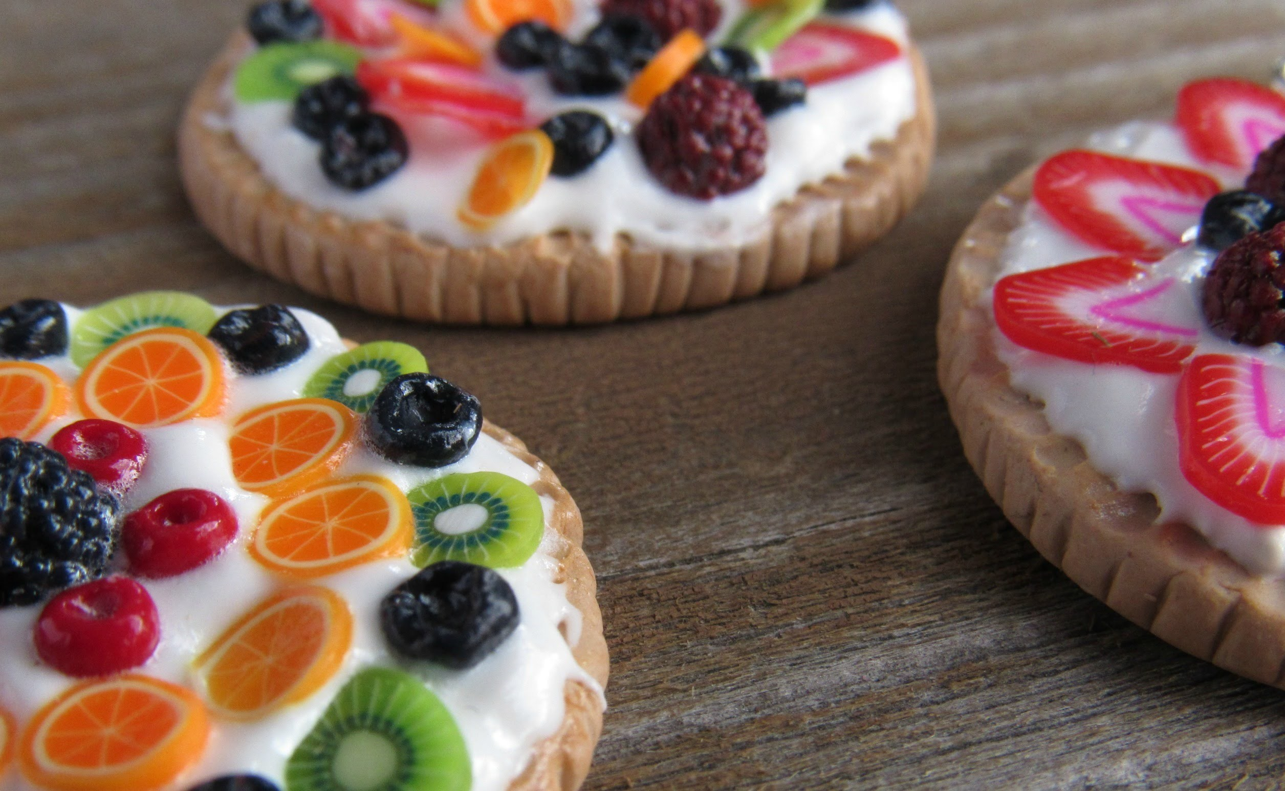 ~ Miniature Fruit Tart Tutorial ~