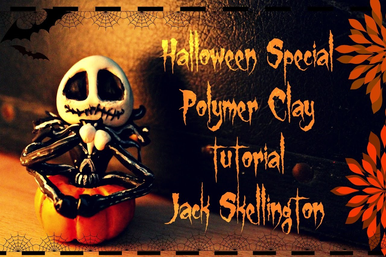 Polymerclay Tutorial Jack Skellington from Disneys Nightmare before Christmas