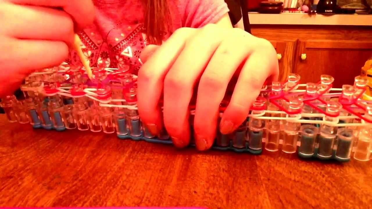 Rainbow loom- zippy chain tutorial