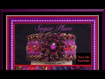 Sugar Plum Bracelet Tutorial.How To
