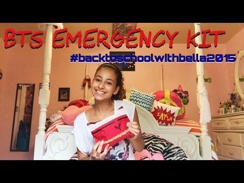 What's in my School Essentials Bag + DIY | Back to School 2015 ♡