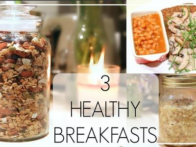 3 Healthy Breakfasts | Niomi Smart