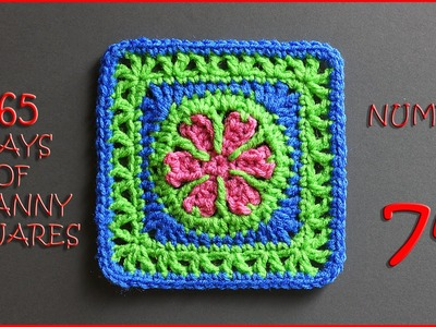 365 Days of Granny Squares Number 74