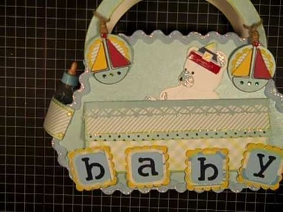 A Bundle of Joy Baby Diaper Bag with Mini Album