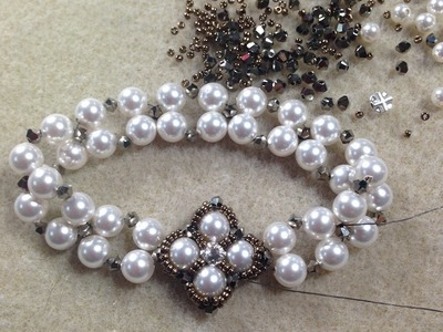 Crazy For Pearls Reversible Bracelet
