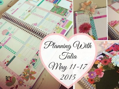 Decorating My Lifeplanner & Etsy Sticker Haul | Planning With Talia