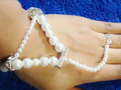 DIY Prom Wedding Casual Ring Wrist Bracelet