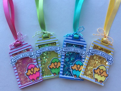 Easter Shaker Tags Design Team Project for Not2ShabbyShop