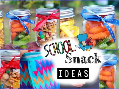 Easy & Affordable Snack Ideas for School!