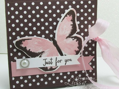 "Easy ""Squash Fold"" card tutorial by Song of My Heart Stampers"