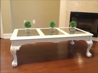 How I Transformed My Coffee Table from Goodwill