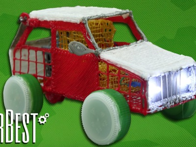 How to Make a Car - Powered Car - 3D Pen