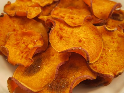 How to Make Honey BBQ Sweet Potato Chips: Gluten Free & Paleo