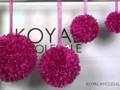 Kissing Balls and Pomanders by Koyal Wholesale Wedding and Event Supplies