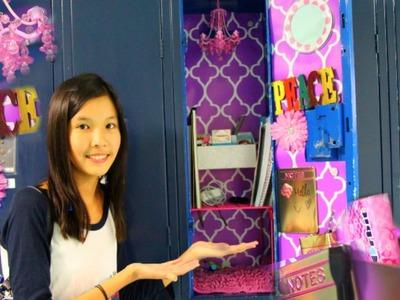 Locker Organization & Decoration Ideas! + My essentials