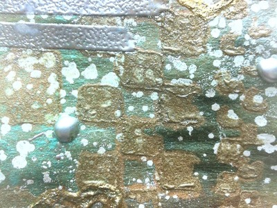 """Mixed Media Tip-- """"Use Your Stash"""":Five Ways To Use Embossing Powders"""