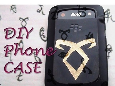 The Mortal Instruments Phone CASE. DIY