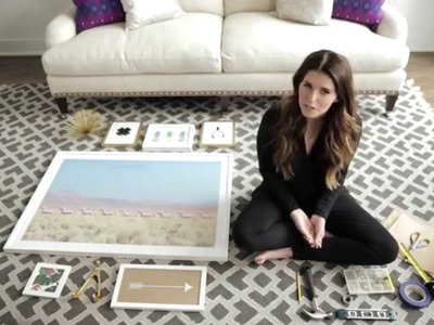 The Perfect Art Gallery Wall | #AsKat | InStyle