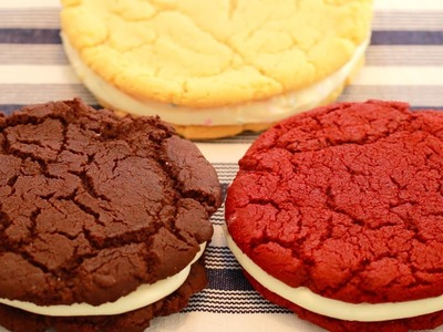 3 GIANT Single-Serving OREO Cookies (Red Velvet, Birthday Cake & Chocolate) Bigger Bolder Baking 109