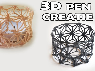 3D PRINTER PEN CREATION WATCH ME MAKE A CANDLE HOLDER