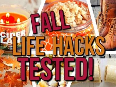 5 Pinterest Fall Life Hacks + DIYs TESTED! | Courtney Lundquist