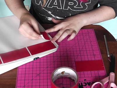 Decorate your Binder with Duct Tape