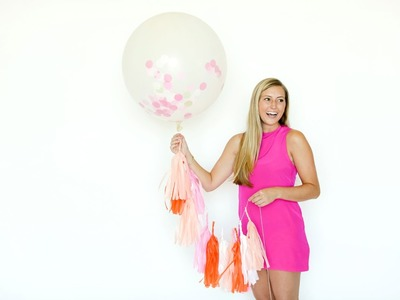 DIY Confetti Balloons: How to Make Any Party Pop