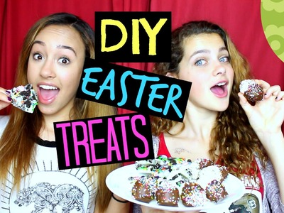 DIY EASY NO-BAKE SPRING EASTER TREATS! - HowToByJordan