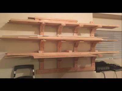 DIY Lumber Rack (easy)