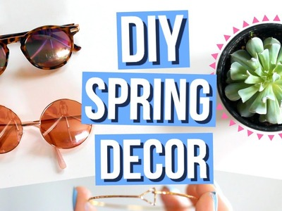 DIY Spring Room Decor!