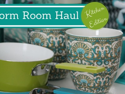 DORM ROOM ORGANIZATION & SHOPPING HAUL: Kitchen Edition