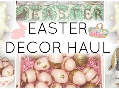 Easter Decor Haul 2016 ♡ HomeGoods, T.J. Maxx, & JoAnn Fabrics
