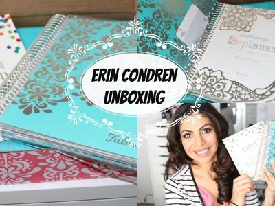 Erin Condren Life Planner Unboxing + First Impression