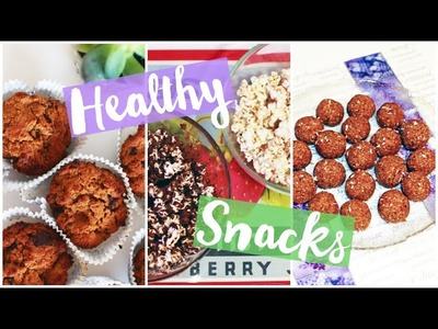 Healthy Snack Ideas!! | Movie Night Edition