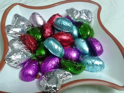 Home Made Chocolate Easter Eggs