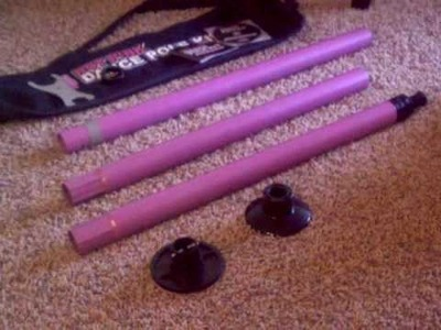 Hot Pink Stripper Pole Video Review