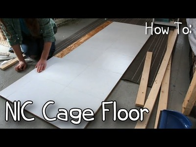 How To Make a NIC.C&C Cage Floor.Level