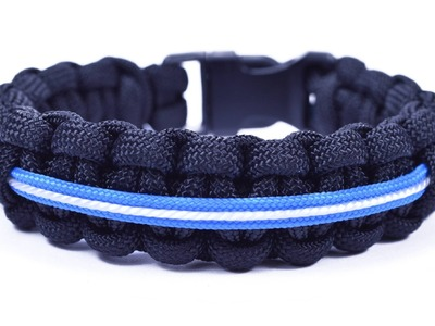 How to Make a Star Wars Themed Lightsaber Paracord Bracelet - BoredParacord.com