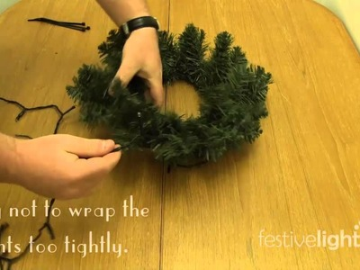 Make Your Own Light Up Wreath