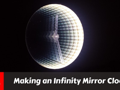 Making An Awesome Infinity Mirror Clock (FS Woodworking)