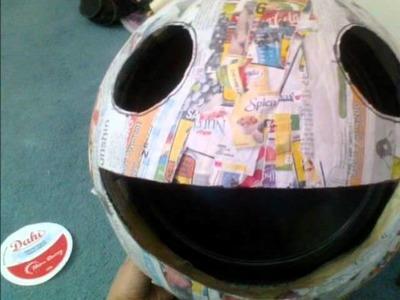 Making of my Glowing Deadmau5 Head (Wall Mount Version)