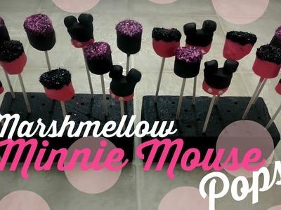 Marshmellow Minnie Mouse Pops