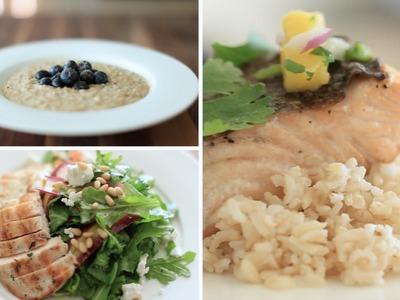 My 3 FAVE Healthy Meals (Breakfast, Lunch & Dinner) | Rachel Talbott